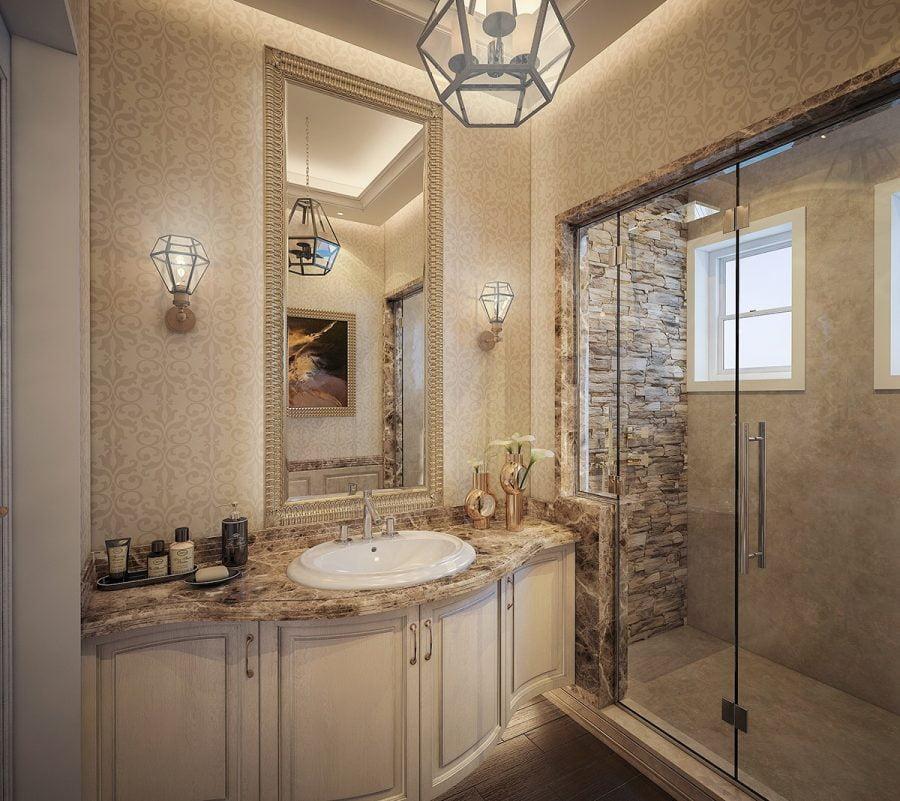 nhà vệ sinh tân cổ điển