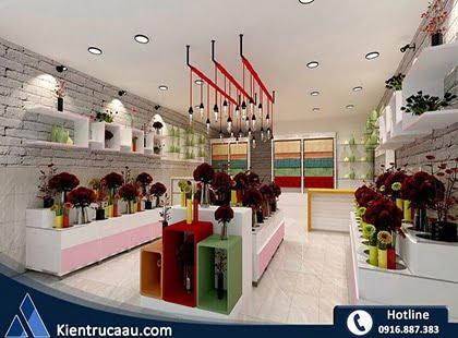 Thiết kế cửa hàng hoa Tigon