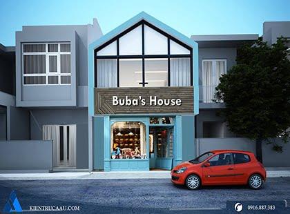 Thiết kế cửa hàng tạp hóa Babu's House