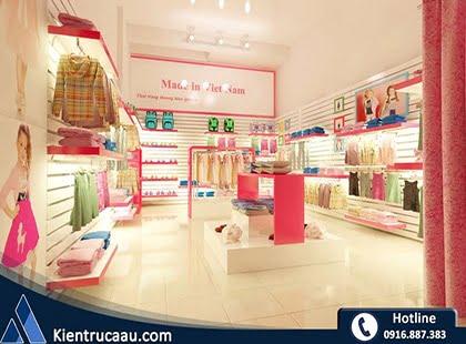 Cửa hàng thời trang trẻ em Made in Việt Nam