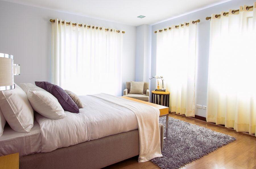 phòng ngủ ấm áp yên bình