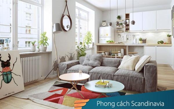 Phong cách Scandinavia