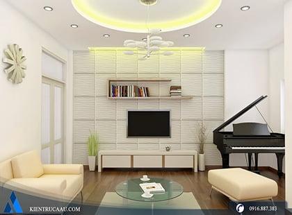 Thiết kế và thi công nội thất nhà anh Đại
