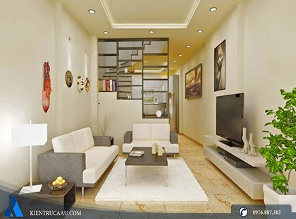Thiết kế và thi công nội thất nhà anh Sáng