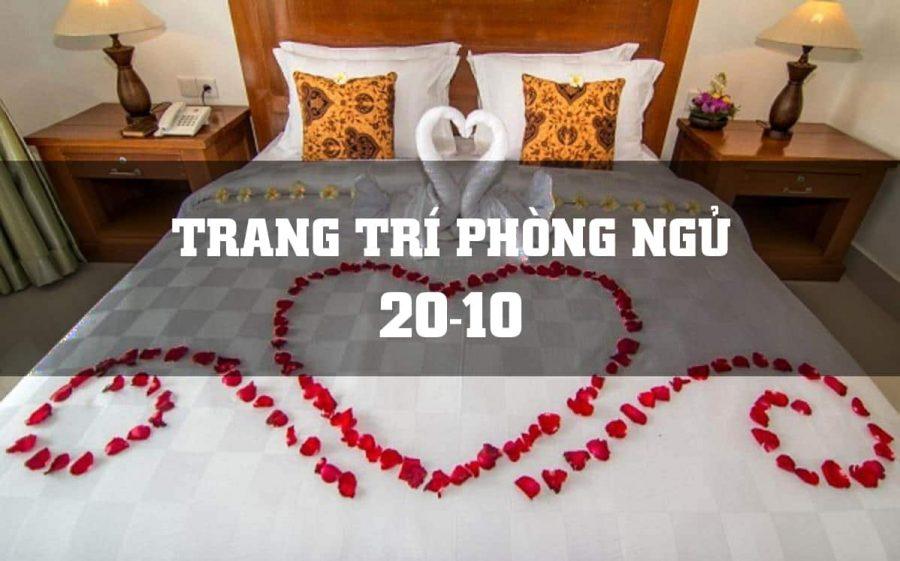 6 cách trang trí phòng ngủ tạo bất ngờ tặng vợ yêu ngày 20-10