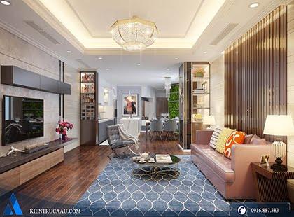 Thiết kế căn hộ 1505 FLC Phạm Hùng
