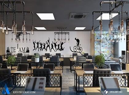 Thiết kế văn phòng làm việc công ty Hải Vân