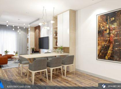 Phòng bếp căn hộ Imperial Plaza – Mulberry