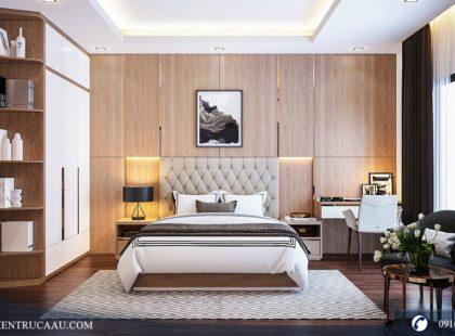 Phòng ngủ Master chung cư FLC Phạm Hùng – Goldmark City