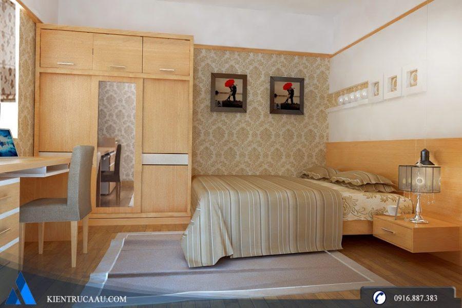 Thiết kế phòng ngủ con trai căn hộ Dream Town