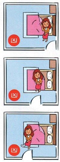 Ảnh hưởng đến sức khỏe khi kê giường ngủ đối diện cửa