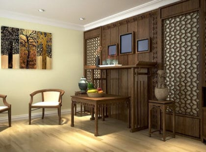 7 điều kiêng kỵ khi bố trí vị trí đặt bàn thờ chung cư hiện đại