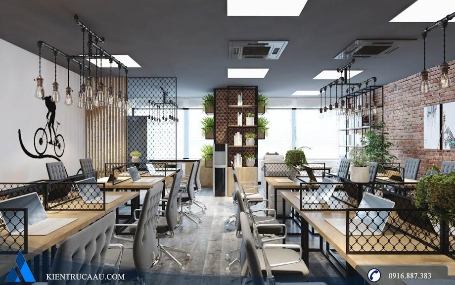 Không gian xanh trong văn phòng làm việc
