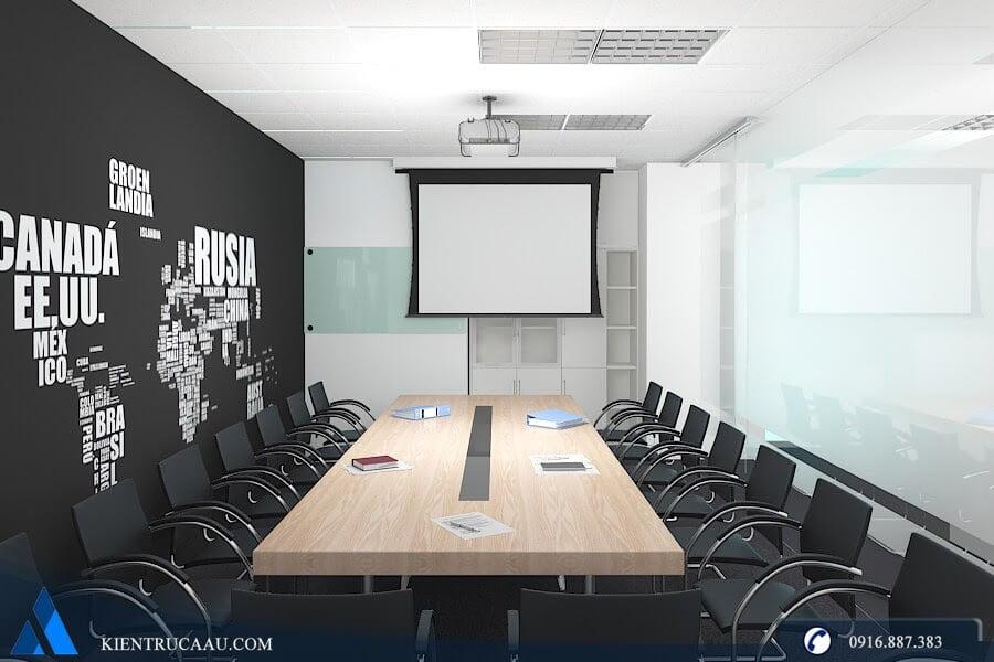 phòng họp rộng rãi sang trọng