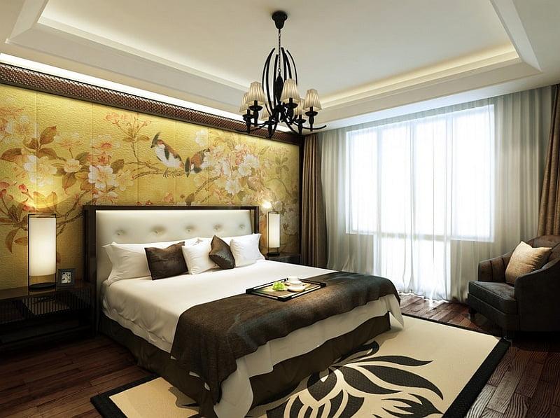 phòng ngủ châu á