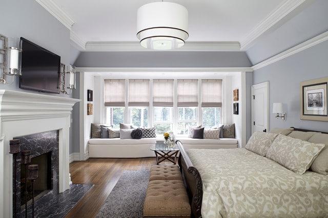 phòng ngủ cổ điển kết hợp hiện đại