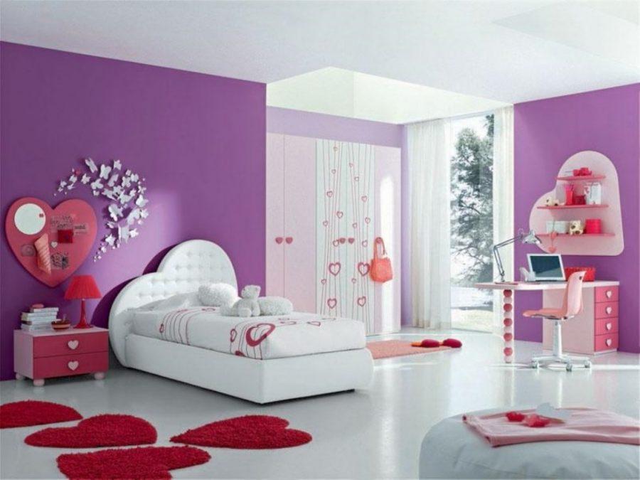 Phòng ngủ dành cho con gái trên 15 tuổi