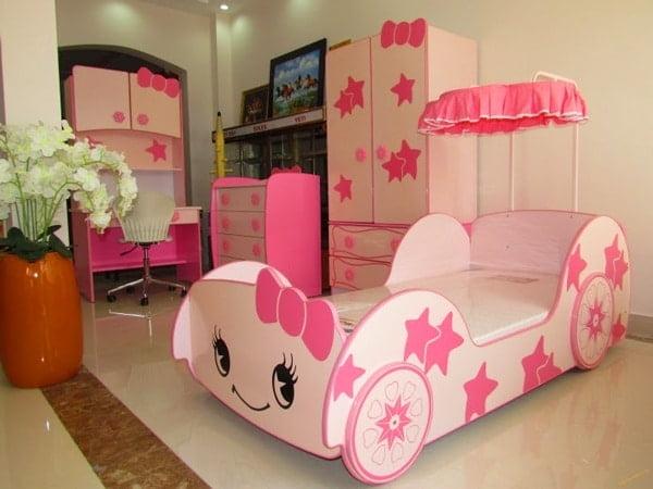 Phòng ngủ với thiết kế giường dạng xe độc đáo