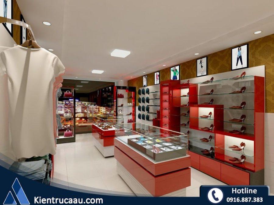 Thiết kế cửa hàng thời trang Remy