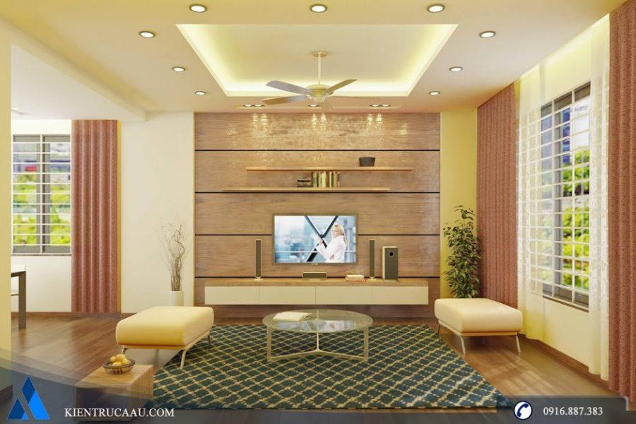 Thiết kế và thi công nội thất nhà anh Nam