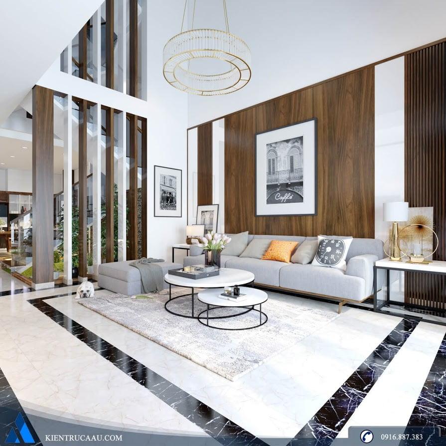 Thiết kế và thi công nội thất nhà anh Ngọc
