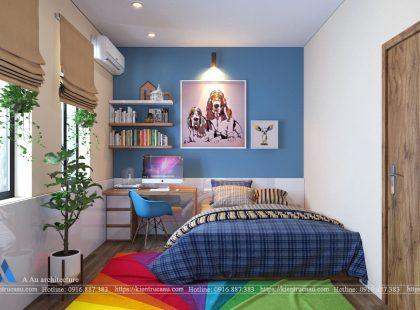 Phòng ngủ con biệt thự Imperial – Hải Phòng