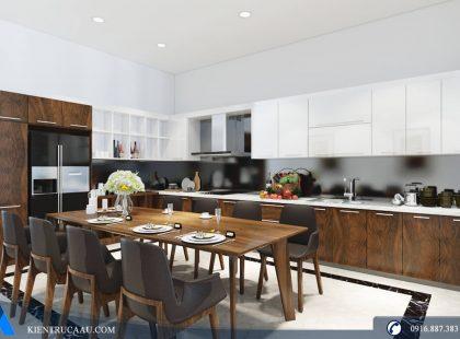 Phòng bếp nhà Anh Ngọc – Anh Đại