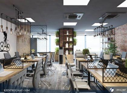 Những thiết kế văn phòng tại chung cư dẫn đầu năm 2018