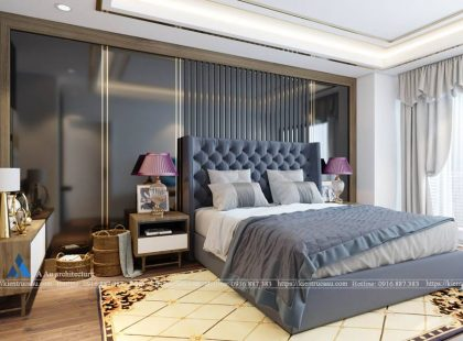 Thiết kế phòng ngủ Anh Huy