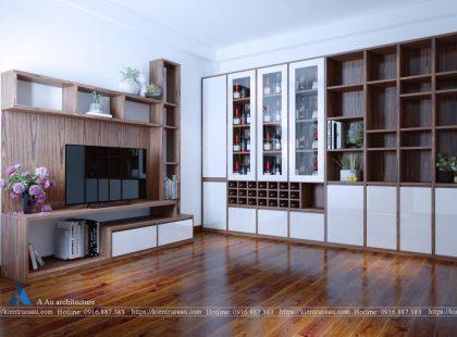 Thiết kế – Cải tạo chung cư Anh Chinh