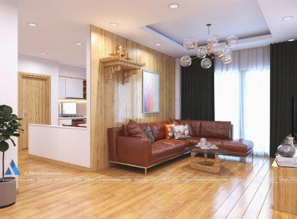 Thiết kế căn hộ nhà Anh Hiếu