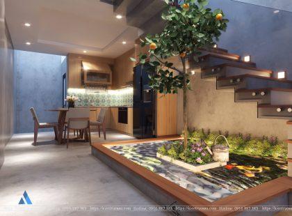 Thiết kế ánh sáng khu bếp