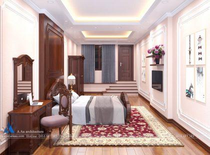 Phòng ngủ nhà chị Hân
