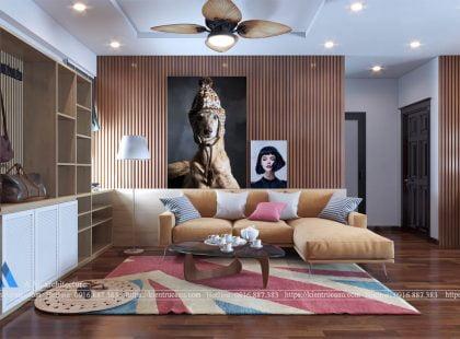 Thiết kế căn hộ nhà A Hoàng
