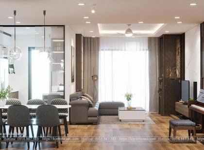 Thiết kế căn hộ 1805 Thống Nhất Complex