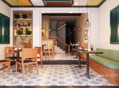 Cải tạo nhà phố thành Hostel Thành phố Hà Giang