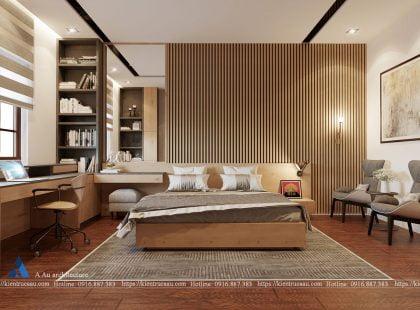 Phòng ngủ nhà Anh Tú