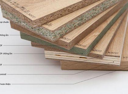 Vì sao lựa chọn gỗ công nghiệp cho nội thất