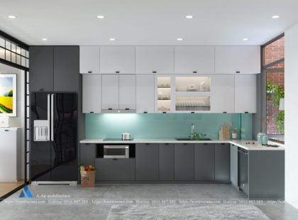 Phòng bếp A Linh – CH Mandarin