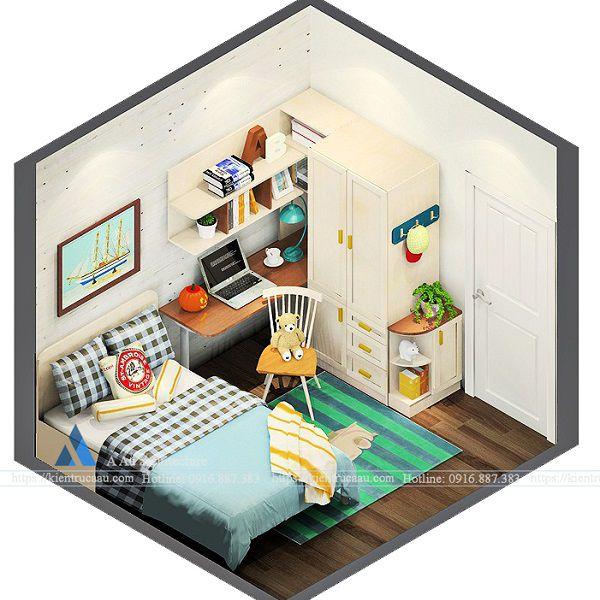 phòng bé trai